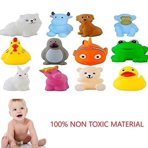 Chu Chu Bath Toys for Baby Non-Toxic Toddler Set Multi Color