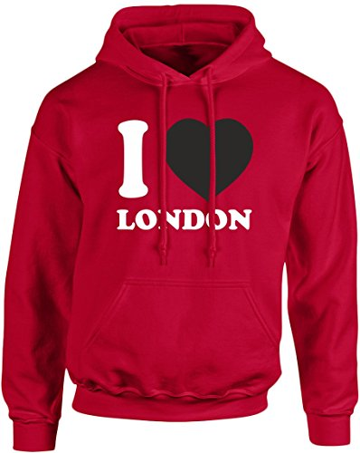 swagwear I Love London Funny Unisex Hoodie 10 Colours for sale  Delivered anywhere in UK