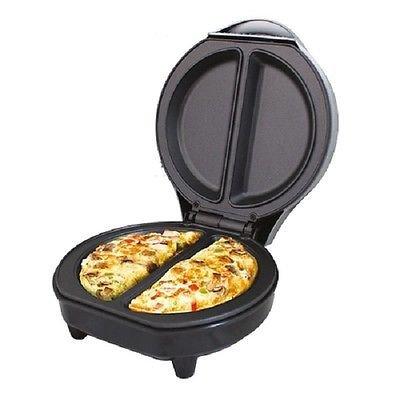 Generic. RIC Omelet Maker 700Watt N Stick Elektrische Omelette 700weiß 00Watt Premium antihaftbeschichtet