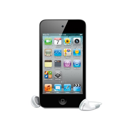 Apple iPod Touch 4G MP3-Player (Facetime, HD Video, Retina Display) 32 GB, schwarz (Ipod 4 Gen 32 Gb)