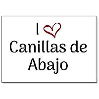 Mundus Souvenirs - Amo Canillas de Abajo, Imán para Nevera (diseño ...