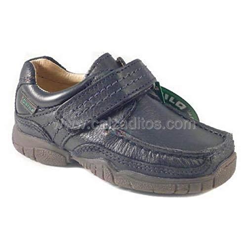 Zapatos naúticos de Piel Azul Marino, de Gorila - Azul Marino, 25