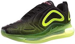 Nike Herren Air Max 720 Sneaker, Schwarz (Black Ao2924-008), 43 EU