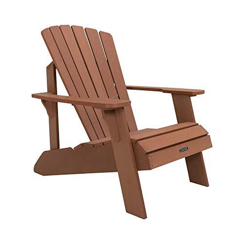 Lifetime 60064 Adirondack-Stuhl aus unechtem Holz, braun