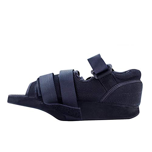 XIHAA Vorfuß-Dekompressions-Schuhe, Gesundheits-Wanderer-Stiefel Beschuht Justierbaren Rehabilitations-Maschen-Schuh-Vorderen Dekompressions-Schuh, Vorfuß-Bruch-Fixierung,M -