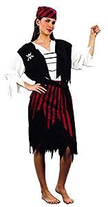 Reír Y Confeti - Fibpir030 - Para adultos traje - Traje Corsario - Mujer - Talla M