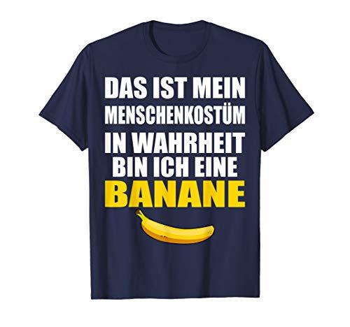 Kostüm Zombie Bananen - Lustiges Sprüche Banane Halloween Kostüm T-Shirt