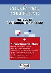 3003.  Hotels et restaurants (chaînes) Convention collective