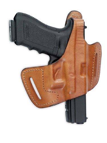 Front Line fast-draw belt-slide Leder Holster (braun), Herren, Frontline - Belt Slide Leather Holster - Taurus 24-7 With 5 1-4