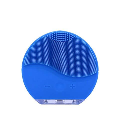 Cleanser Zum Reinigen (gouxia74534 Reinigungsbürste, USB, zum Aufladen von Silikagel, Gesichtsreiniger, Hautreiniger, Silikonreiniger Saphir)