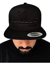 AHAD THE ONE Muslim Cap  islamisches Cap für Damen und Herren  Arabische  Schrift Bestickt auf Original Flexfit… d3936218c4