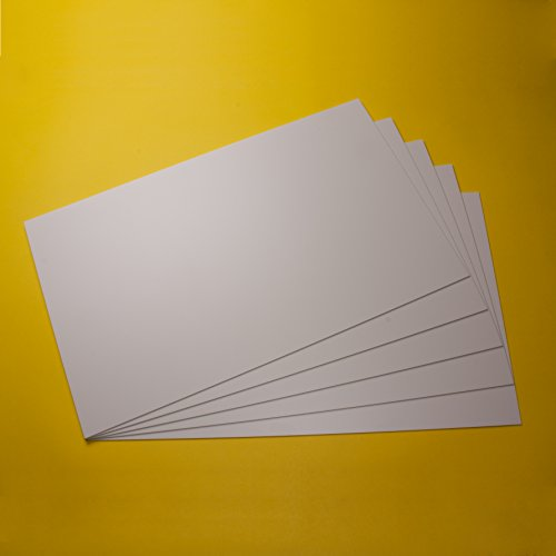Plaques PS en polystyrène plaques en plastique plaque pour modélisme / bricolage couleur blanche, différentes tailles et quantités, acheter pièces,