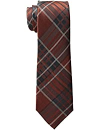 Haggar Men's Big-Tall Plaid Extra Long Necktie