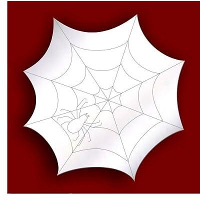 Día de boxeo * VENTA * decorativo adornos/Nursery Ventana Habitación Decoration- grabado diseño con telaraña araña 5cm espejo acrílico