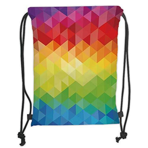 Rucksack GEOMETRIC Triangles Backpack Stück Deutsch