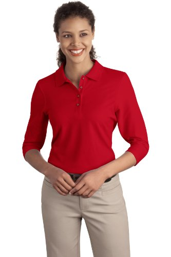 Port Authority -  Polo  - Donna Red
