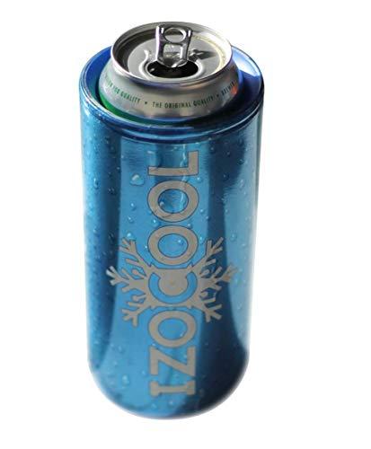 Izocool haltet Ihr Bier oder anderes Getränk bis zu 90 Minuten kühl. Ganz egal ob zu Hause oder im Garten, an der Bar, Einer Geburtstagsarty, im Picknick oder sonstige Outdoor Aktivitäten.