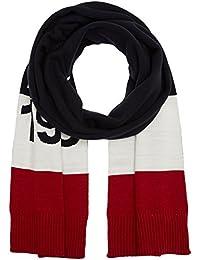 Tommy Hilfiger Logo Stripe Scarf, Sciarpa Uomo, Multicolore (Corporate Clrs), Taglia unica (Taglia Produttore: OS)