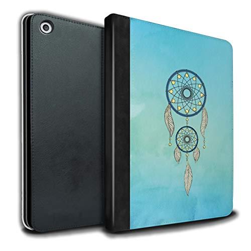 eSwish - Libreta de Piel sintética con Funda, IP-TSB, colección de Arte de atrapasueños Light Blue Sky Apple iPad 9.7 2018/6th Gen