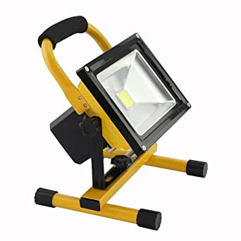 DBPOWER® Waterproof IP65 120 Degree 20w LED Rechargeable Flood Light Floodlight Emergency Lamp Bulb Portable Camping Lamp
