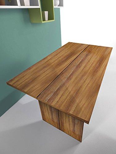 Montefiore design tavolo salvaspazio inside rovere scuro