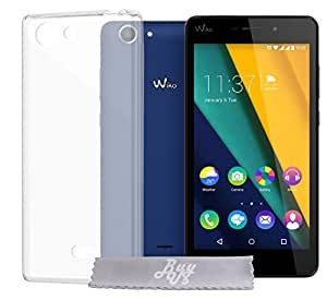 Coque Gel transparent INVISIBLE Wiko Pulp 4G + Stylet + 3 Films OFFERTS