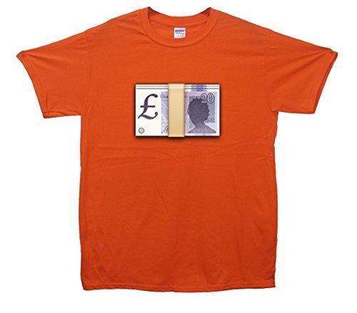 Pound's Emoji T-Shirt Orange