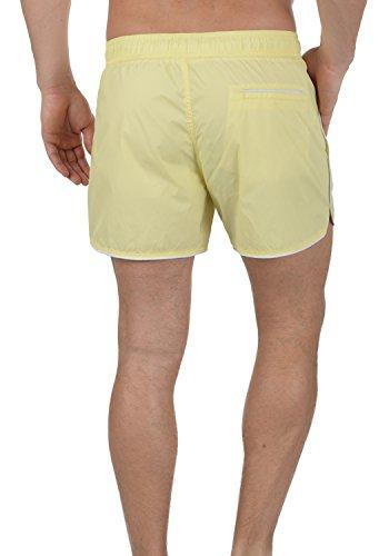 BLEND Zion Herren Swim-Shorts Badehose Schwimm-Shorts Mellow Yellow (72510)