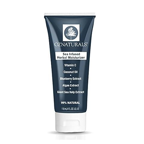 OZNaturals Facial moisturiser - This Natural, Anti Aging Face moisturiser Contains Vitamin C, Coconut Oil & Algae Keratin Extract For The Most Effective Moisturizing & Antioxidant Benefits