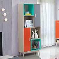 Maison Concept Radiant Cabinet, Multi Color - H 1800 x W 300 x D 800 mm