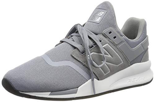 2480904637 New Balance 247v2, Zapatillas para Hombre, Plateado Steel, 41.5 EU