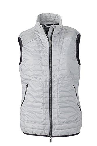 James & Nicholson Lightweight Vest Outdoor Occident Argenté/noir