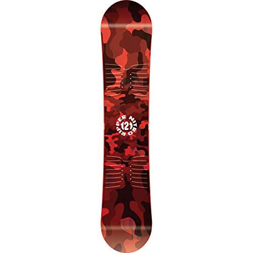 Nitro snowboards ripper '20 brd all mountain freestyle twin board - tavola da snowboard unisex, 121 cm, multicolore