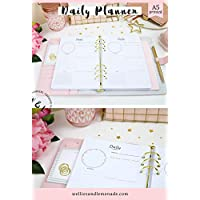 A5 Planner Refills, Daily Planner, Daily Organizer, Daily Schedule, A5 Planner Inserts, A5 Planner Inserts, Carpe Diem Inserts