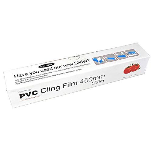 Catering Frischhaltefolie 450mm x 300m-handelsüblicher Qualität Stretch Film Kunststoff Lebensmittel Wrap-1000ft -