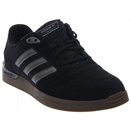 Adidas Skateboarding Zx Vulc Noir / onix / collégiale Red Sneaker 6 D (m) Black/Iron Metallic/Gum5