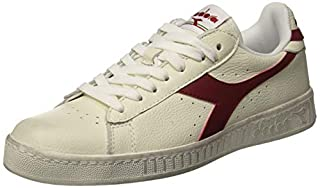 Diadora Game L Low Waxed, Chaussures de Gymnastique Mixte Adulte, Blanc (White/Red Pepper C5147), 44 EU (B00U68AHCC) | Amazon price tracker / tracking, Amazon price history charts, Amazon price watches, Amazon price drop alerts