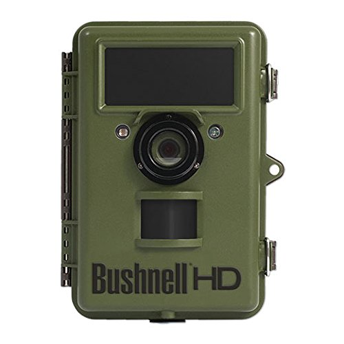 Bushnell 119740 14mp natureview cam hd with live view, green, no glow