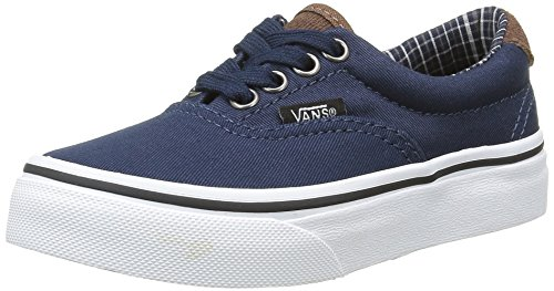 Vans Era 59, Scarpe da Ginnastica Basse Unisex - Bambini, Blu (Cord and Plaid Dress Blues/True White), 35 EU