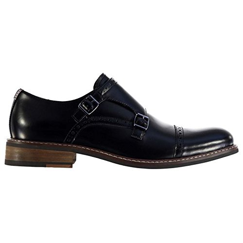 Firetrap Rosenberg Hommes Chaussures Richelieu Brogues A Lacets Habillees Casual Noir