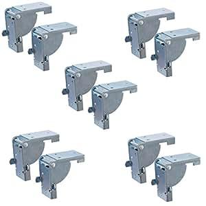 5 Paar - Klappbeschlag Tisch-Klappenbeschlag klappbar für ...
