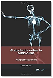 A students notes in MEDICINE (Black & white edition)