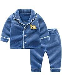 e1db680b6a OPPP Pijamas de niños Ropa para niños Ropa para niñas Pijamas Invierno bebé  Servicio a Domicilio