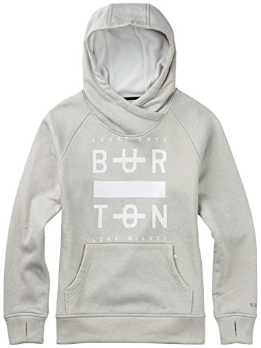 Burton à capuche Quartz Dove heather