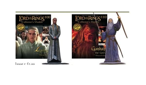 Lord of the Rings Collectors models Choose 1: Amazon co uk
