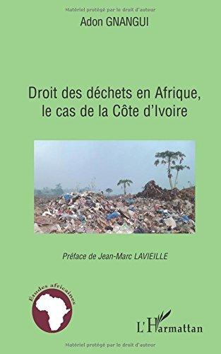 Droit des déchets en Afrique, le cas de la Côte d'ivoire