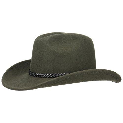 Cowboyhut Texashut Wollfilzhut (L/58-59 - ()
