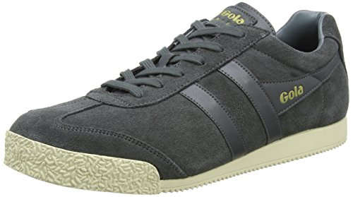 Gola Harrier Suede, Sneakers Basses Homme Gris (Graphite/off White Mg)
