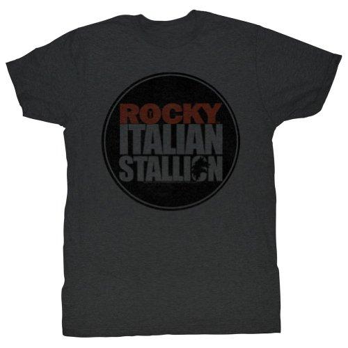 Rocky - Männer RKY Seal T-Shirt in der Holzkohle Charcoal