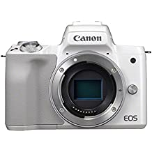 Canon EOS M50 Compact System Camera - White